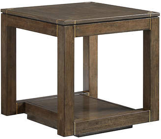 One Kings Lane Panorama Parsons Side Table - Quicksilver