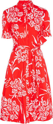 Carolina Herrera Short Sleeve Shirt Dress