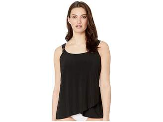 Miraclesuit Solid DD-Cup Dazzle Tankini Top