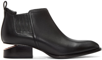 Alexander Wang Black Kori Boots $520 thestylecure.com