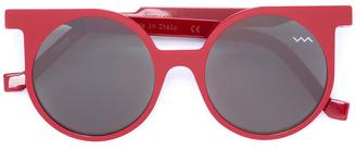 Vava round framed sunglasses $513.05 thestylecure.com