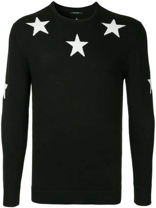 GUILD PRIME stars knit sweater