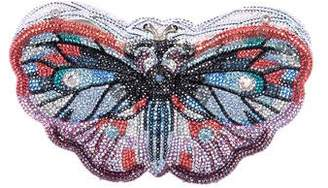 Judith Leiber Crystal-Embellished Butterfly Minaudière