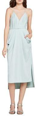 BCBGeneration Faux-Wrap Midi Dress