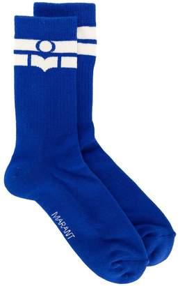 Isabel Marant logo stripe socks