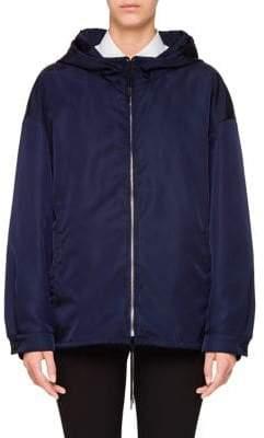 Prada Zip-Front Jacket