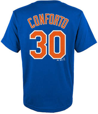 Majestic Michael Conforto New York Mets Official Player T-Shirt, Big Boys (8-20)