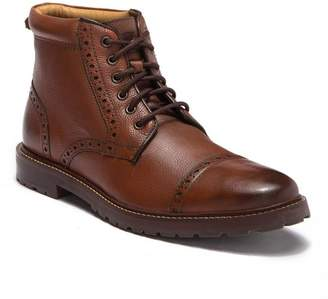 Florsheim Fenway Burnished Leather Cap Toe Boot