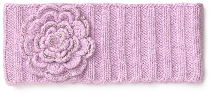 Portolano Crochet Flower Headband