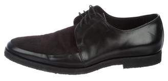 Burberry Rictchson Ponyhair Derby Shoes
