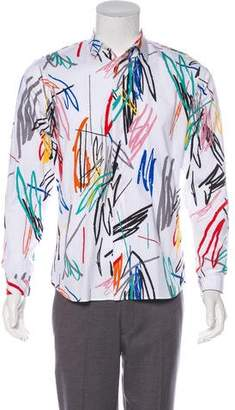 Christian Dior Scribble Print Shirt