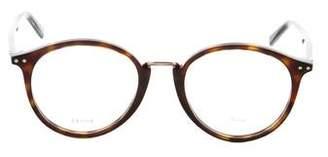 Celine Round Tortoiseshell Eyeglasses w/ Tags