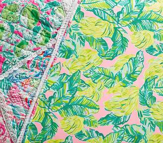 Pottery Barn Kids Lilly Pulitzer Local Flavor Crib Fitted Sheet