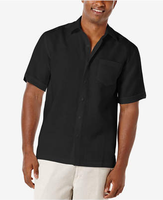 Cubavera Men 100% Linen Short-Sleeve Shirt
