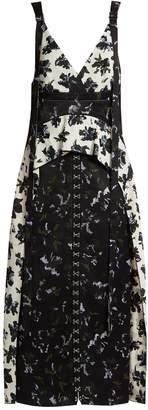 Proenza Schouler Floral-print V-neck dress