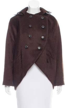 Roland Mouret Mohair-Blend Coat