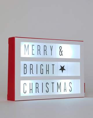 Paperchase lightbox Holidays card