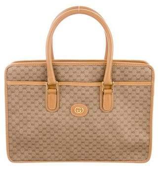 Gucci Vintage GG Plus Handle Bag