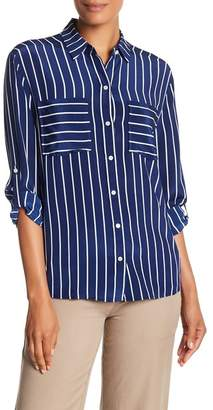 Tommy Bahama Savanna Stripe Silk Cargo Shirt