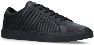 Kurt Geiger London Leather Donnie Quilt Sneakers