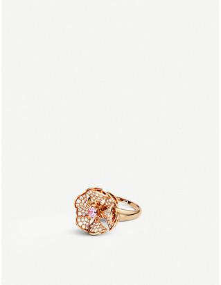 Bvlgari Divas' dream 18ct rose-gold and diamond ring