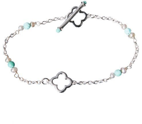 Margaux by Carolee Sterling Silver Turquoise Bracelet