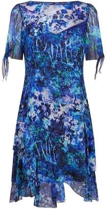 Elie Tahari Maurine Silk Print Dress