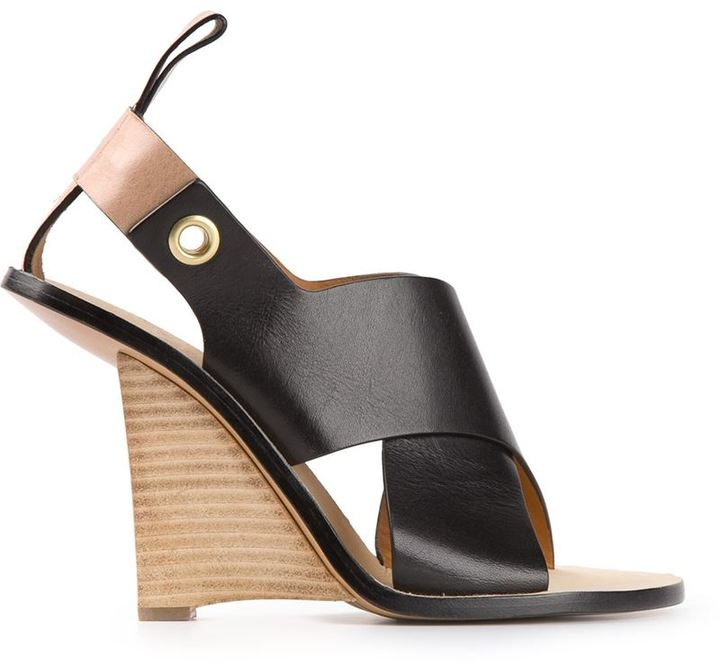 Chloé 'Clyde' wedge sandals