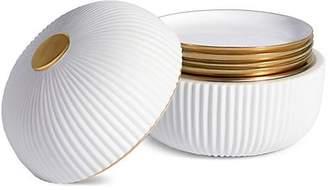 L'OBJET Ionic Five-Piece Porcelain Box and Plate Set