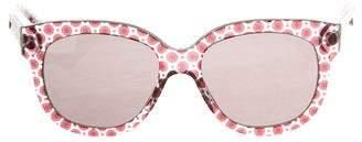 Stella McCartney Oversize Printed Sunglasses