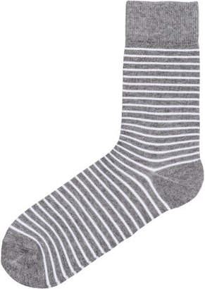 H&M Jacquard-knit socks - Gray