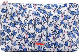 Cath Kidston Bluebells Matt Zip Cosmetic Bag