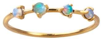 WWAKE Four-Step Opal Ring