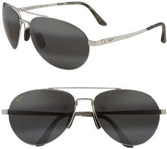 Maui Jim 'Pilot - PolarizedPlus(R)2' 63mm Sunglasses