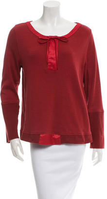 Vera Wang Long Sleeve Sweater $110 thestylecure.com