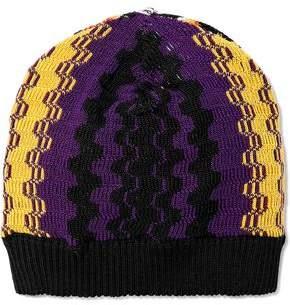 2581d1f9a0c Missoni Crochet-knit Wool-blend Beanie