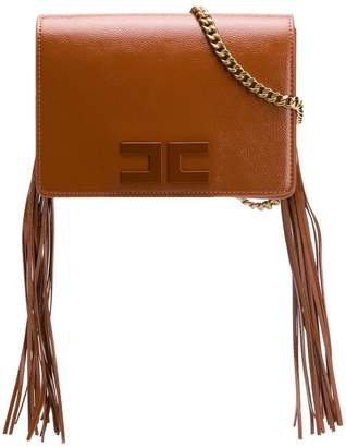 Elisabetta Franchi tasseled cross body bag