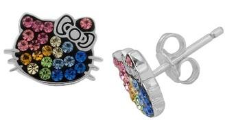 Hello Kitty Sanrio Hello Kitty Rainbow Stud Earring $34.99 thestylecure.com