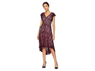 Taylor Lace Flutter Sleeve Dress Women's Dress