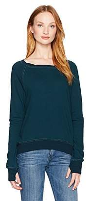 Pam & Gela Women's Annie Hi Low Sweatshirt-f17