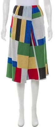 Stephan Schneider Knee-Length Surplice Skirt