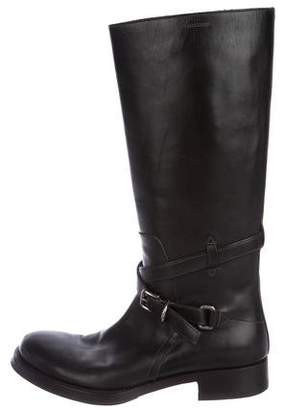 Prada Leather Tall Boots