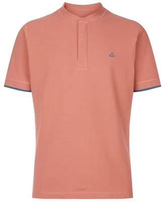 Vivienne Westwood Collarless Emblem Polo Shirt