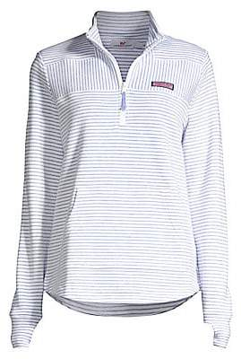 Vineyard Vines Women's Relaxed Stripe Pullover