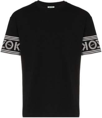 Kenzo lettering logo sleeve T-shirt