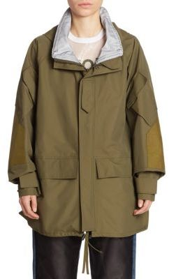 Junya Watanabe Triple Layer Parka $2,501 thestylecure.com