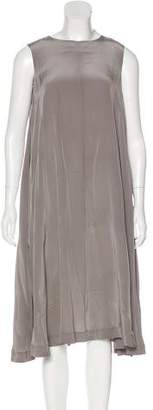 Rachel Comey Sleeveless Silk Dress