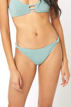 L-Space Reef Green Sundrop Hipster Bikini Bottom
