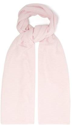 Allude Knitted Cashmere Scarf - Womens - Pink