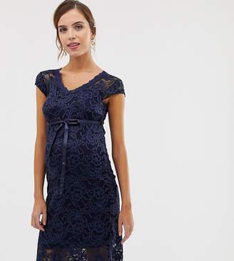 Mama Licious Mama.Licious Mamalicious lace midi dress